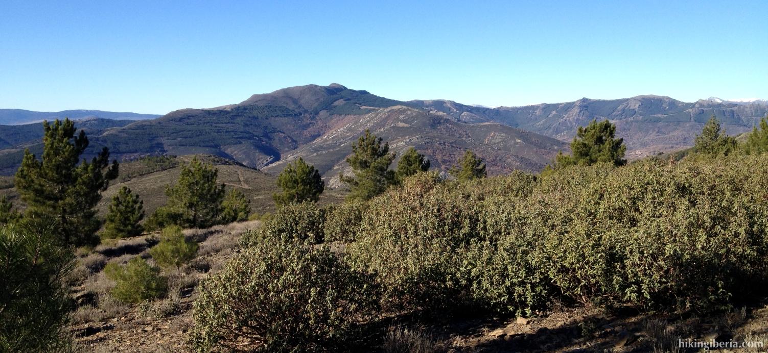 Vista desde Pico Somosierra