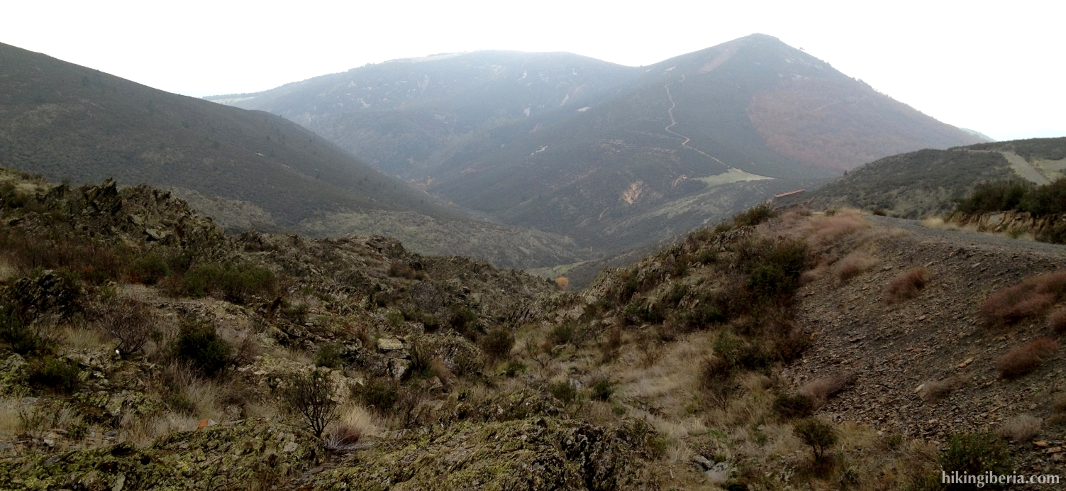 Vista hacia el Torrejón
