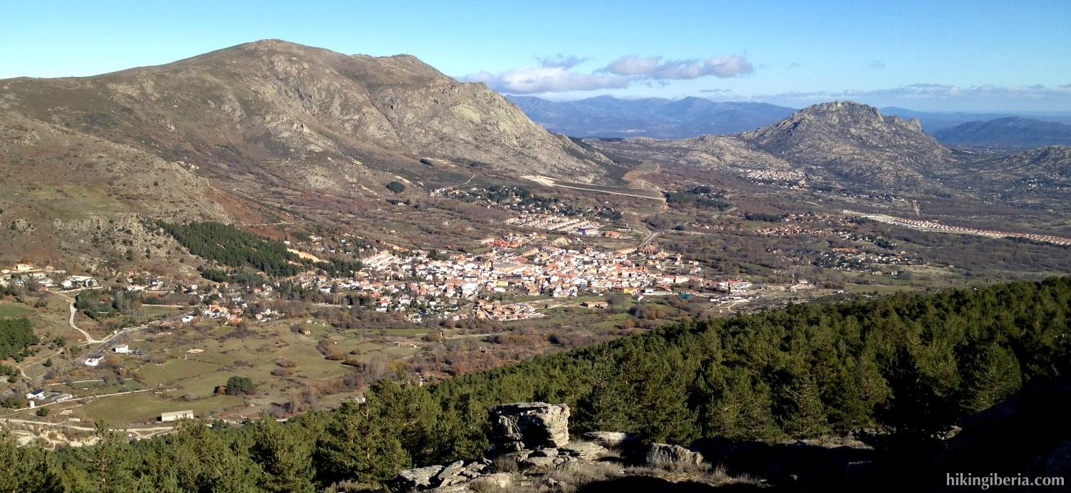 Aussicht ab der Cabeza Arcón