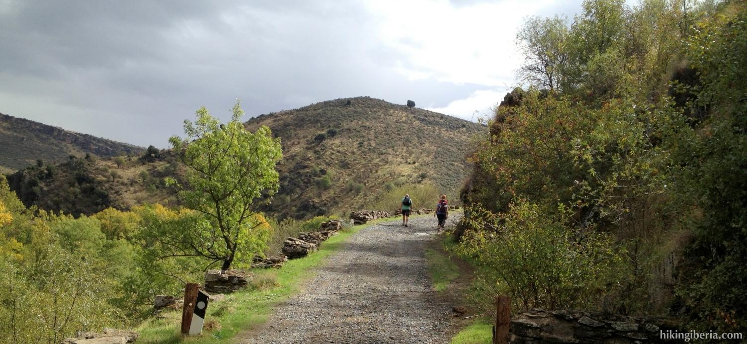 Subida desde el valle del Lozoya