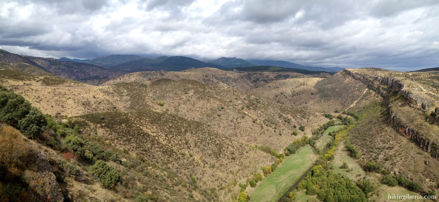 Vistas al valle del Lozoya en el Pontón de la Oliva