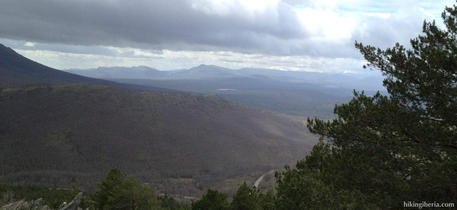Uitzicht vanaf de Loma de Enmedio