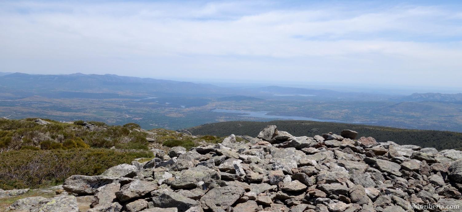 Uitzicht vanaf Reajo Alto