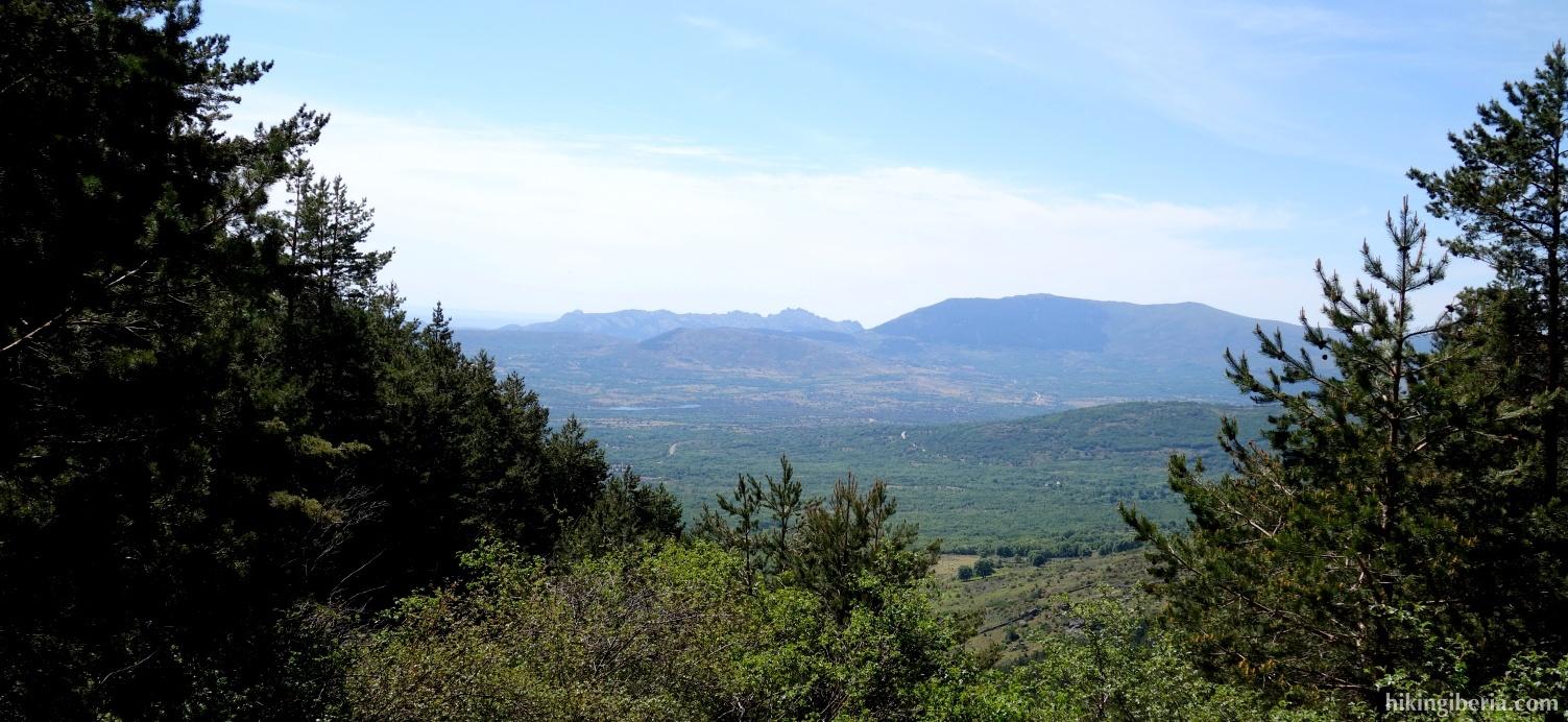 Uitzicht vanaf Tercio del Hoyo