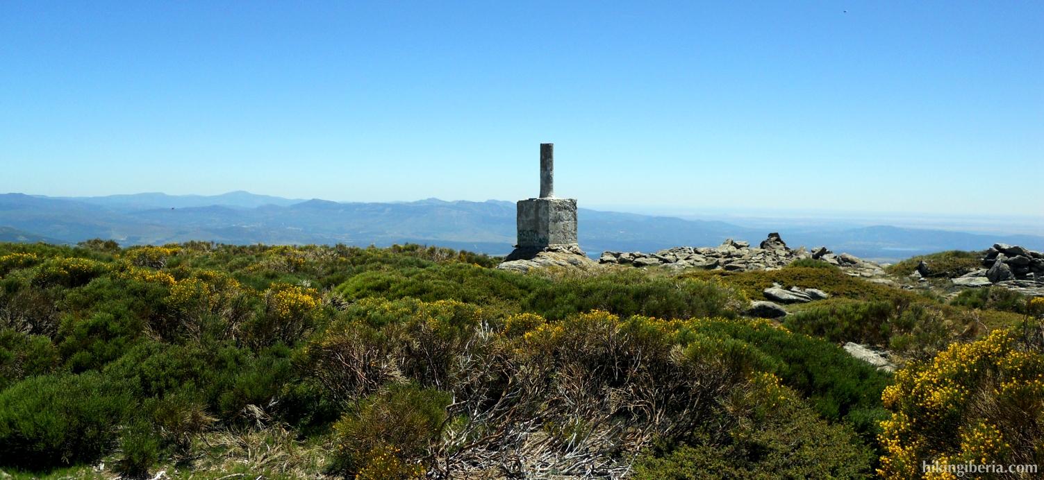 Gipfel auf dem Reajo Alto