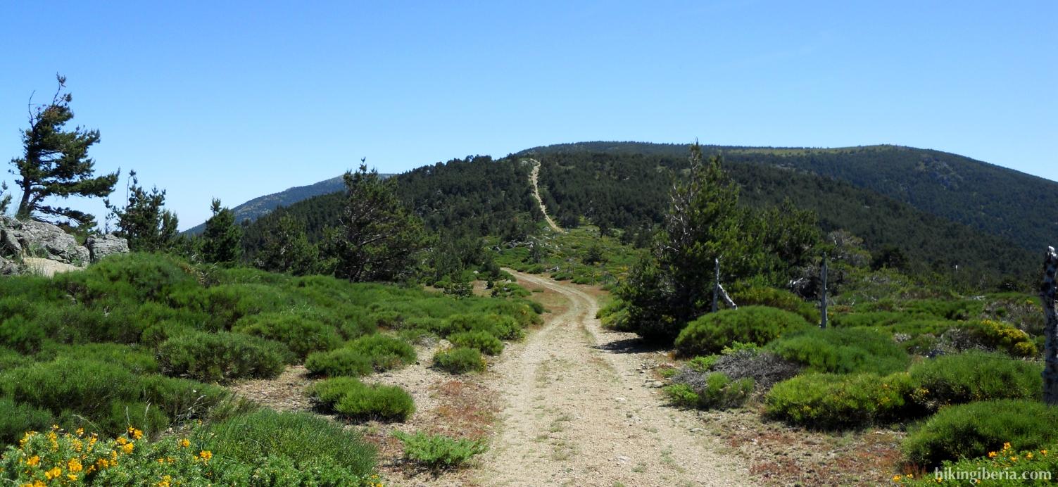 Klim vanaf de Col van Navafria