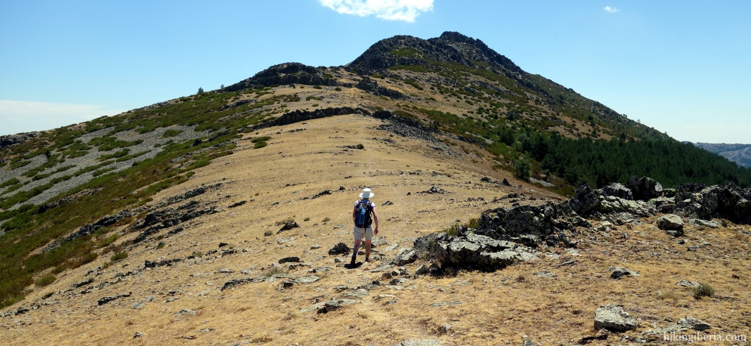 Aufstieg zu La Tornera