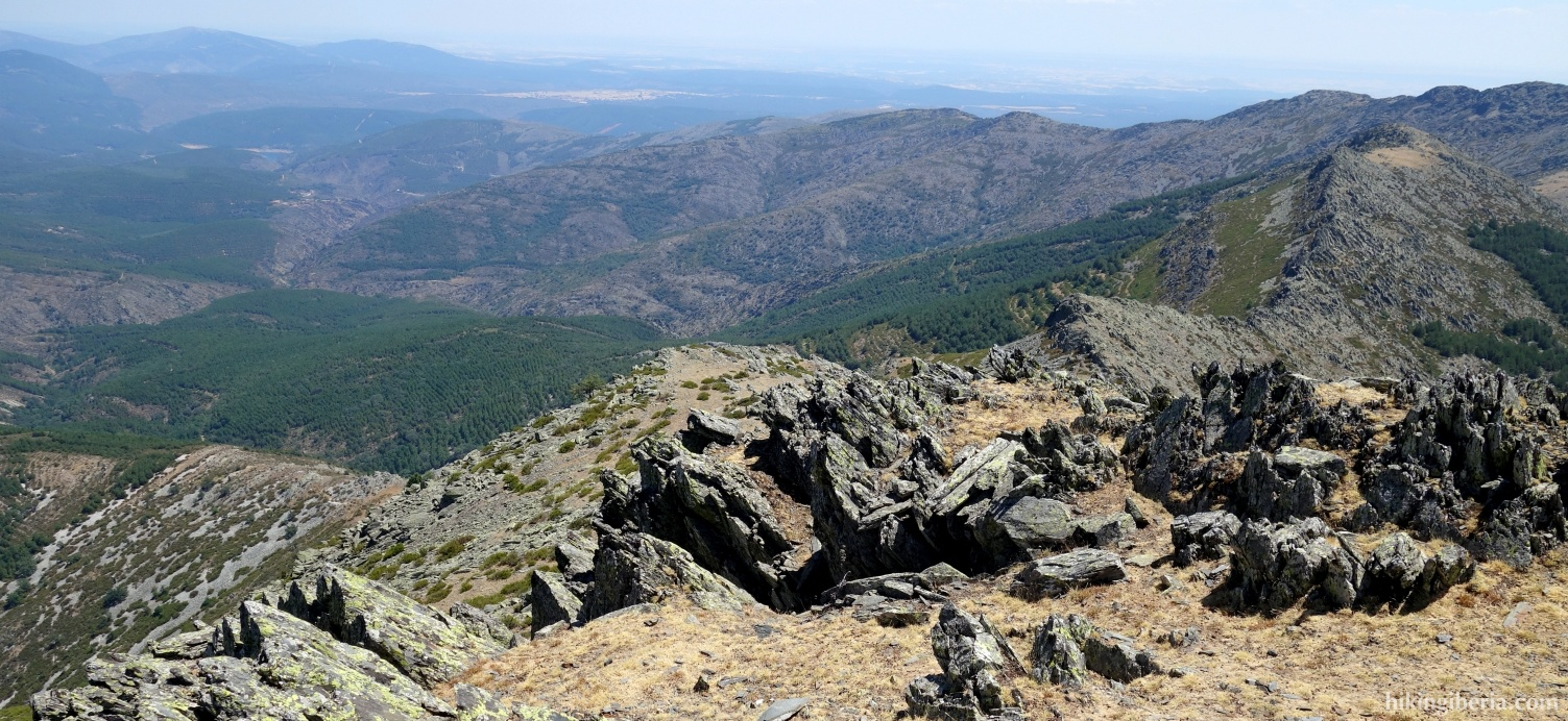 Uitzicht vanaf La Tornera