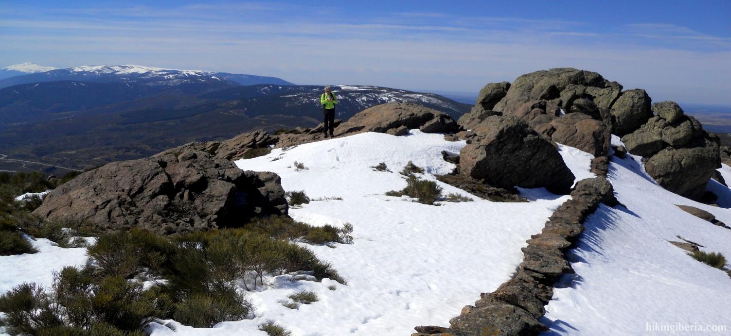 Winters landschap in de Sierra Cebollera