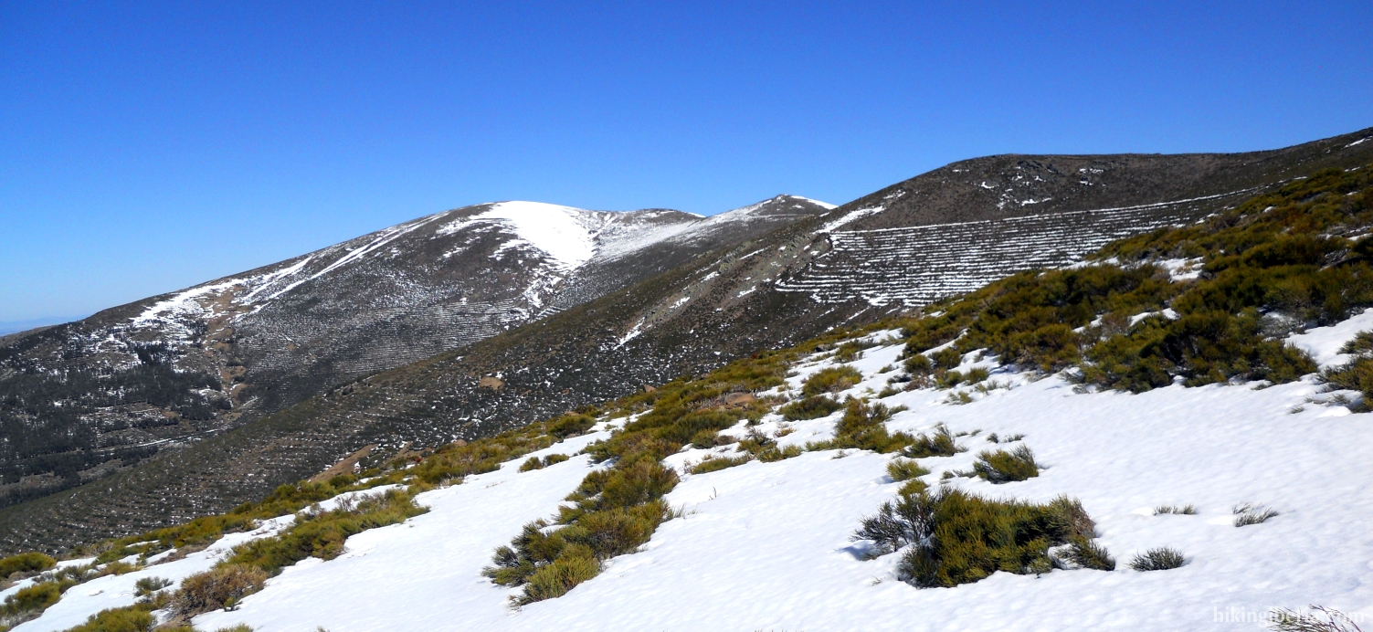 Wintry landscape in the Sierra Cebollera