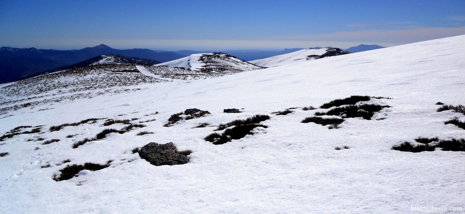 Wintry landscape in the Sierra Cebollera