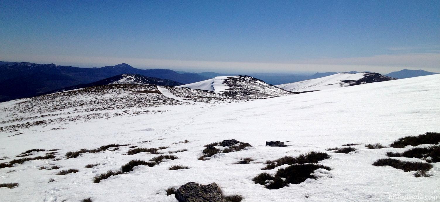 Paisaje invernal en la Sierra Cebollera