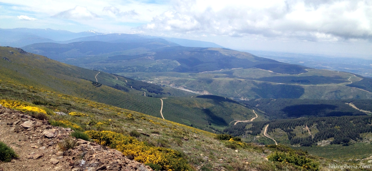 View over the Sierra Norte