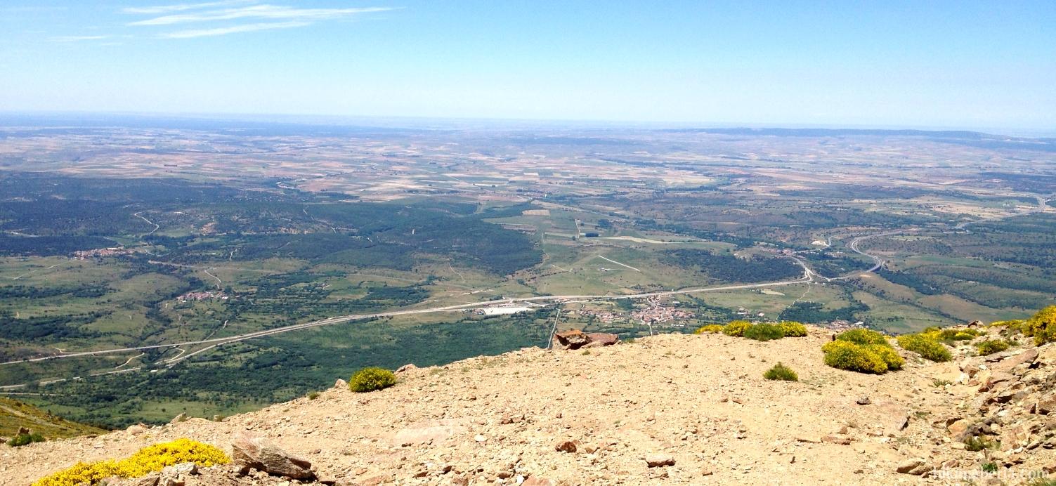 Vista sobre Segovia