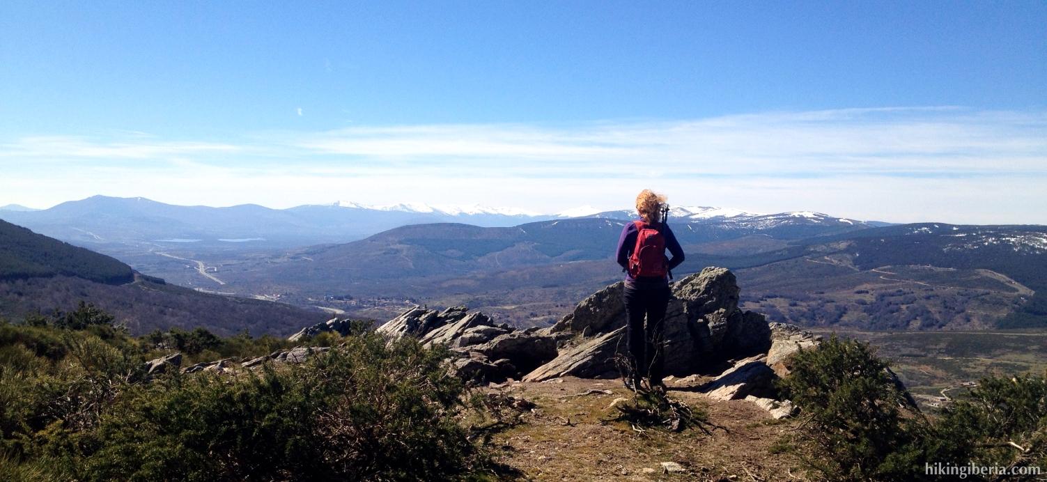Vista sobre la Sierra Cebollera
