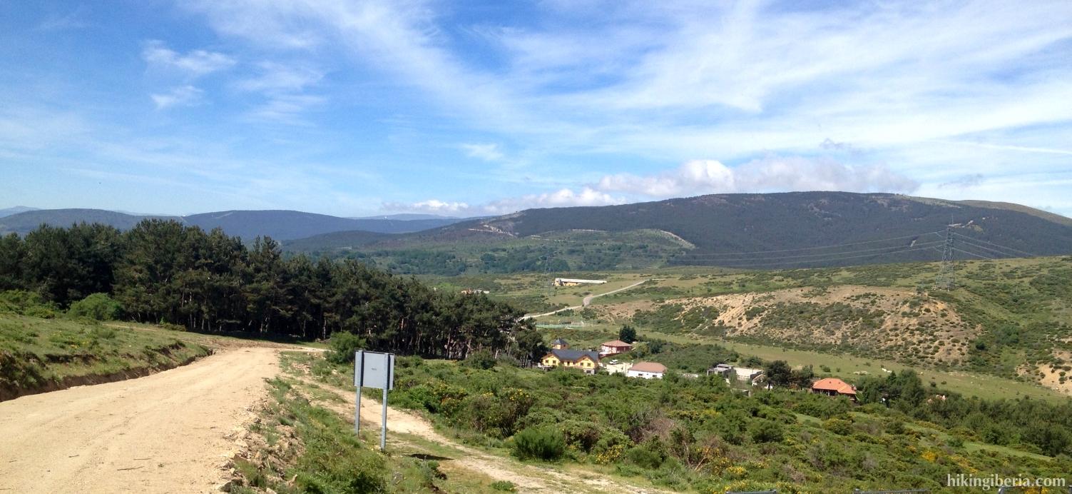 Uitzicht op Somosierra
