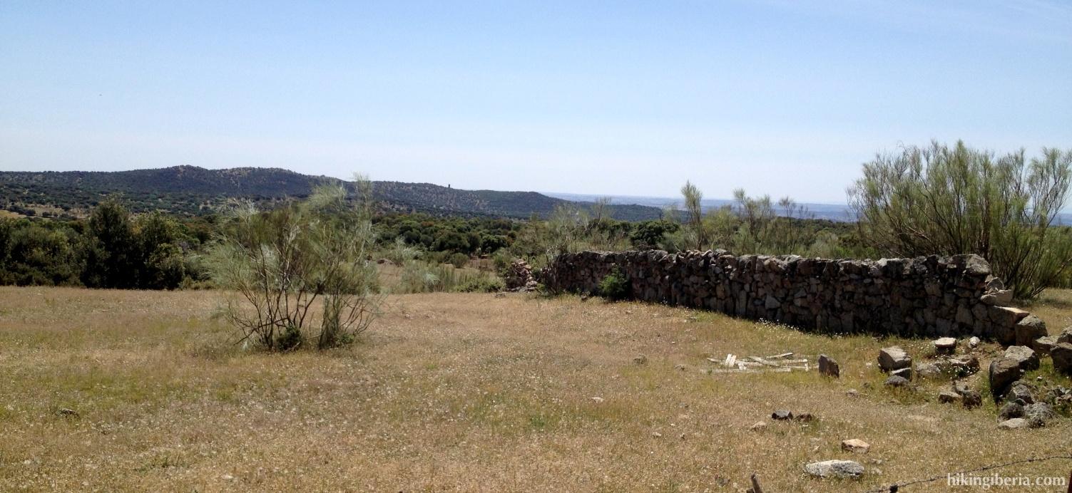 Uitzicht op de Dehesa de Arriba