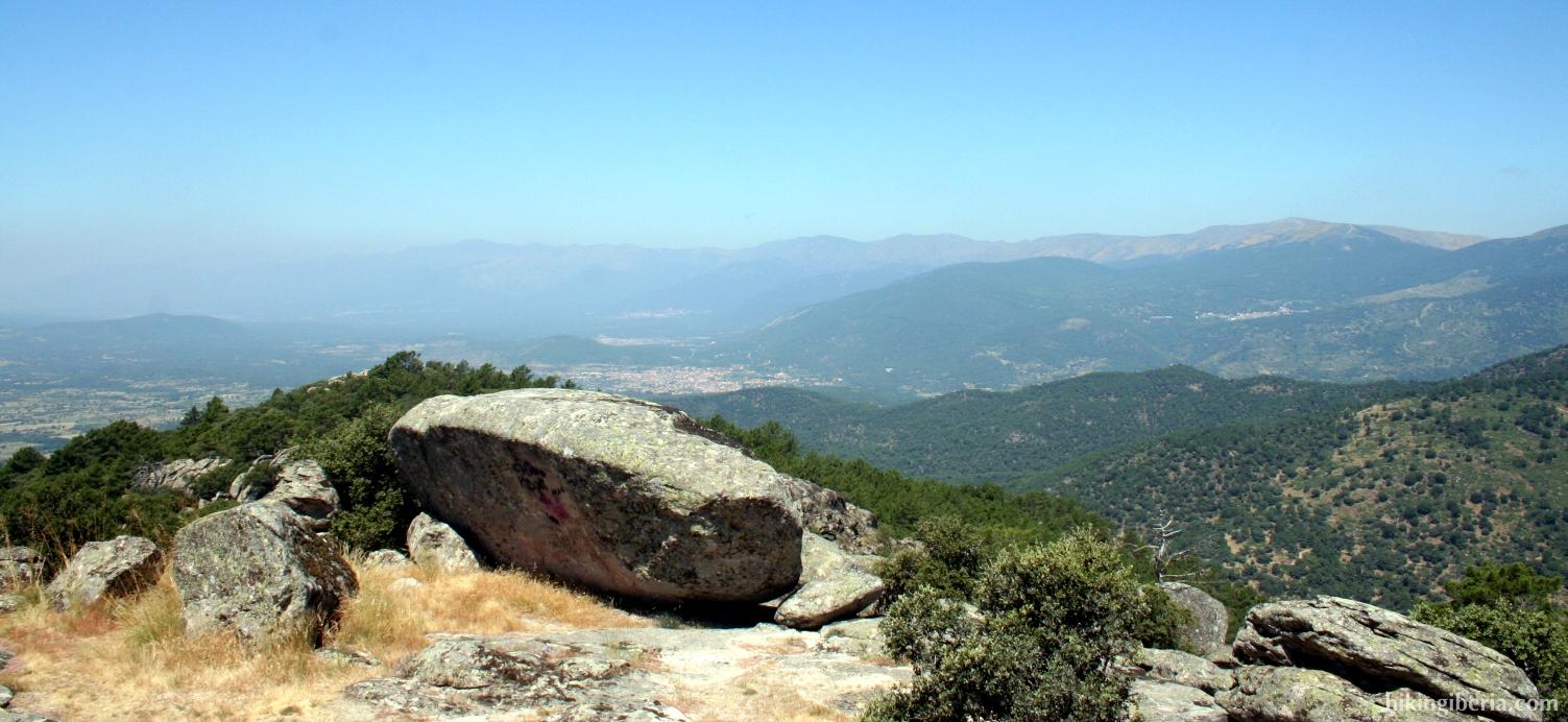 Uitzicht vanaf de Rots van Cenicientos