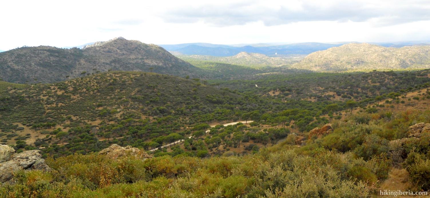 Uitzicht op Vallefrías