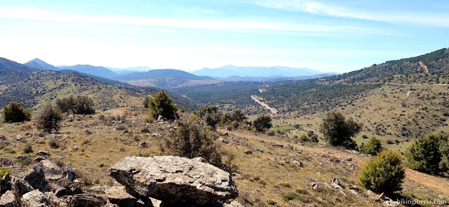 Aussicht ab Prado Pellejero