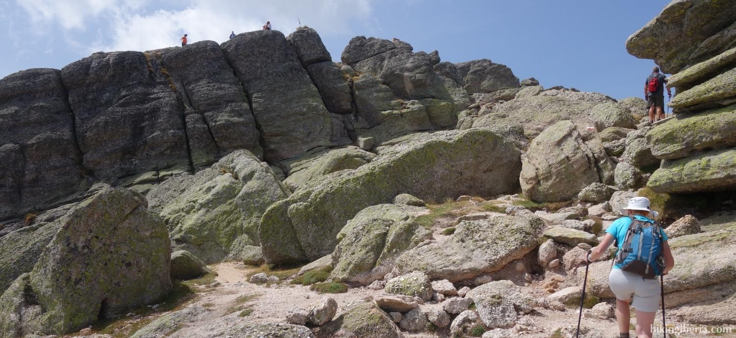 Ascent to the Pico Urbión