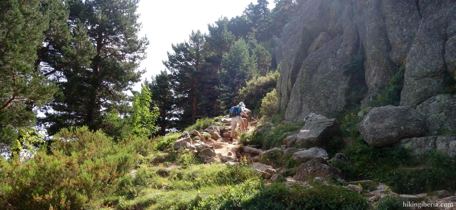 Ascent to the Portillo