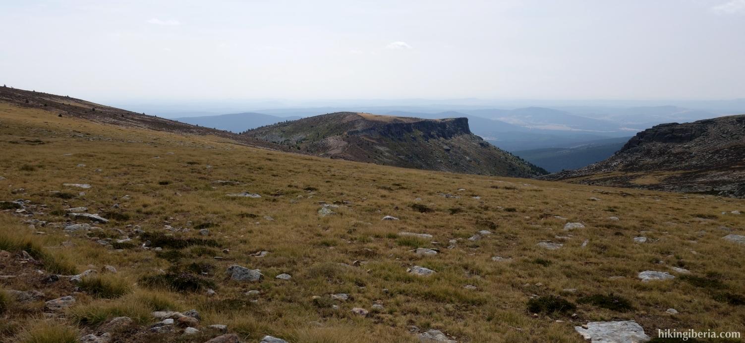 Abstieg vom Pico Urbión