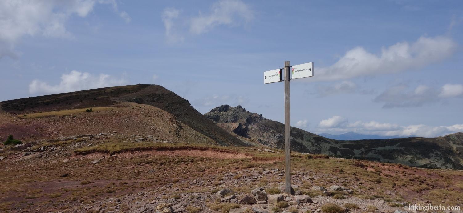 Descenso del Pico Urbión