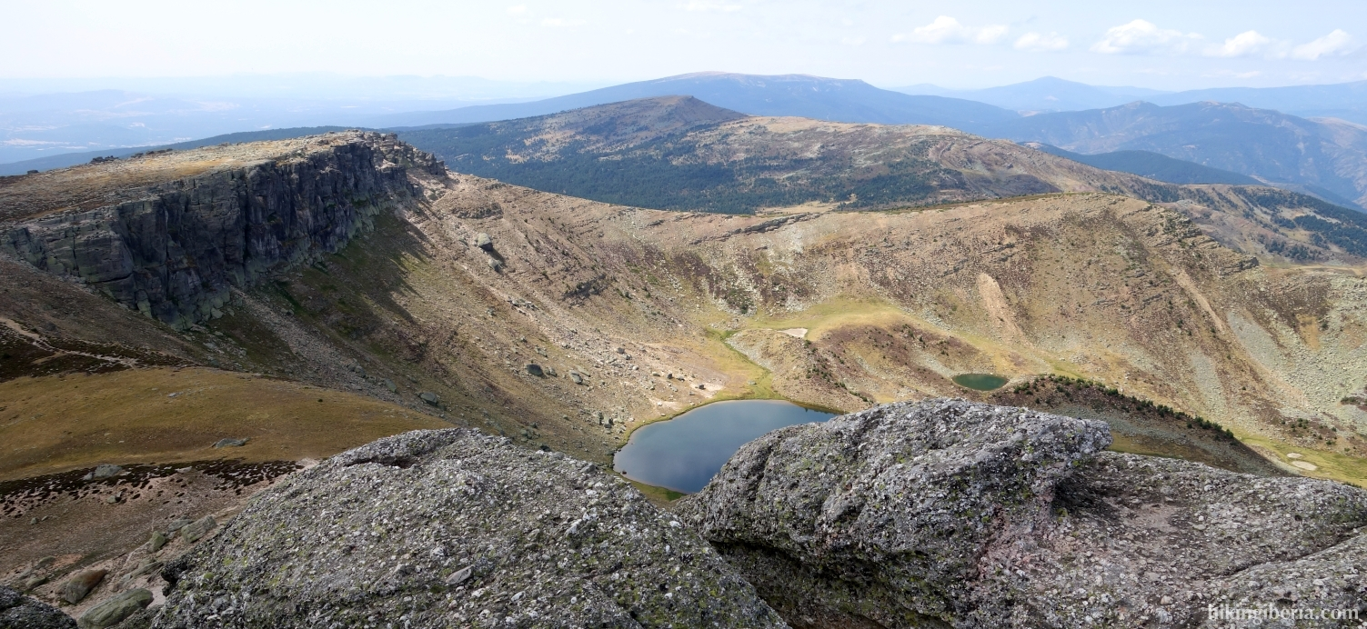 Uitzicht vanaf de Pico Urbión