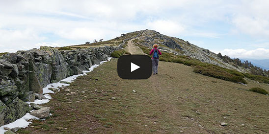 Video Cerro Peña del Águila via Puerto de La Fuenfría